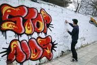 graffitti commentary